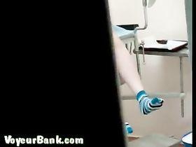 Китаянок у гинеколога скрытая камера
